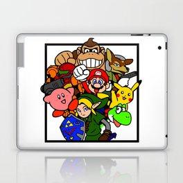 Super Smash 64 Roster Laptop & iPad Skin