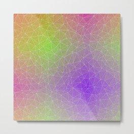 Triangular Horizon Metal Print