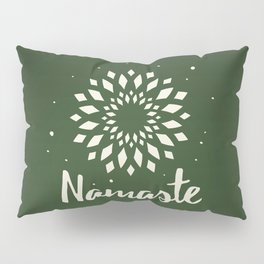 Namaste Mandala Flower Power Pillow Sham