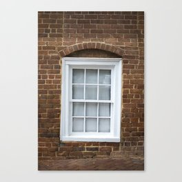 A Wall And A Window Canvas Print