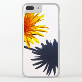 Dandelion and Shadow Clear iPhone Case