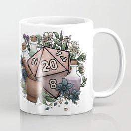 Alchemist D20 Tabletop RPG Gaming Dice Coffee Mug