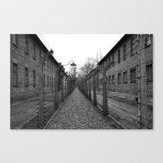 Auschwitz, Poland. Canvas Print