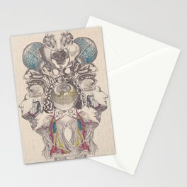 Anatomy Collage 3 Stationery Cards