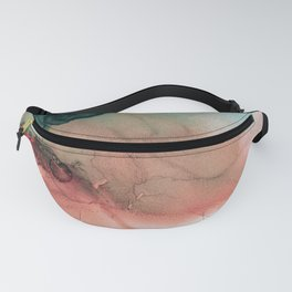Blue Typhoon Fanny Pack
