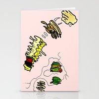netflix Stationery Cards featuring Basquiat Netflix by alexSHARKE