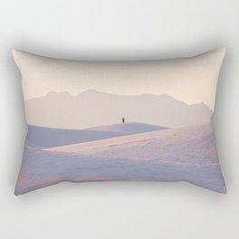 New Mexico Solitude Rectangular Pillow