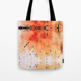 Red Abstract Art - Taking Chances - By Sharon Cummings Tote Bag