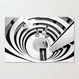 The Gemini Tower Canvas Print