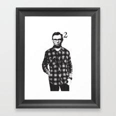 Lincoln Squared Framed Art Print