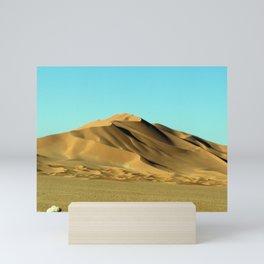 Sand Dunes Sahara Desert Landscape 08 Mini Art Print