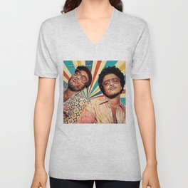 anderson paak and bruno silk sonic Unisex V-Neck