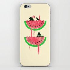Watermelon falls Final iPhone & iPod Skin