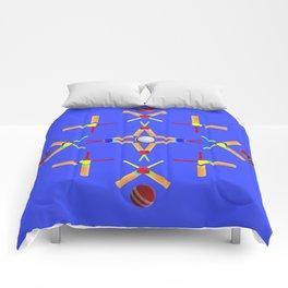Sport Of Cricket Design Comforters