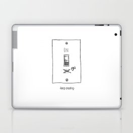 Keep Creating Laptop & iPad Skin