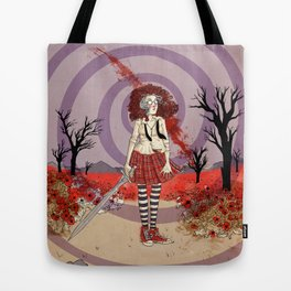 Fiona in the Poppies Tote Bag