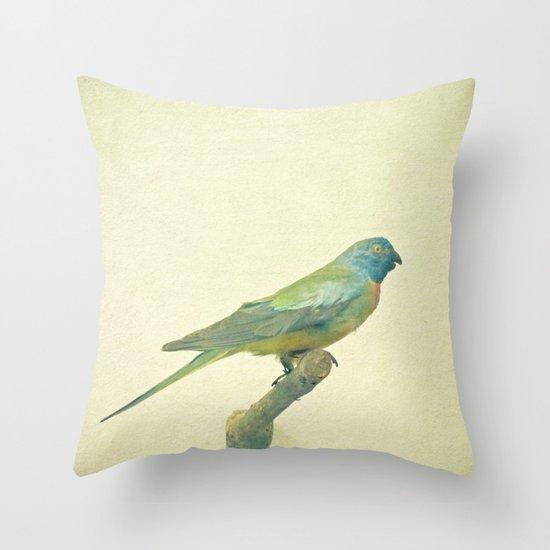 Bird Study #3 Throw Pillow