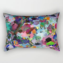 Wild and Wonderful Wildflowers Rectangular Pillow