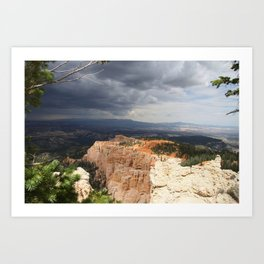 Dark Skies Over Bryce Canyon National Park Art Print