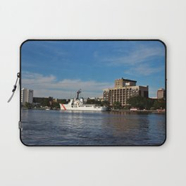 City Across The River Laptop Sleeve