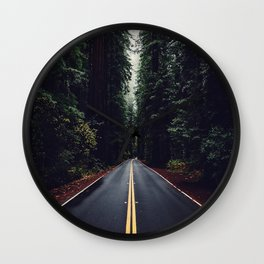 The woods have eyes Wall Clock