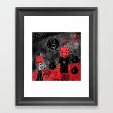 Day Off Framed Art Print