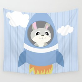 Mobil series rocket bunny Wall Tapestry