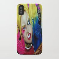 harley iPhone & iPod Cases featuring Harley by Kim Shady
