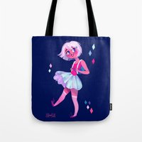 bubblegum Tote Bags featuring Bubblegum by Anoosha Syed