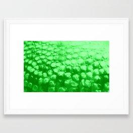 Croc Abstract II Framed Art Print