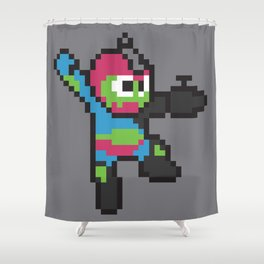 Jaw-man Shower Curtain