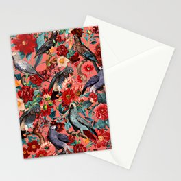 FLORAL AND BIRDS XIX Stationery Cards