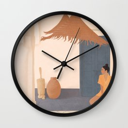 New Place Wall Clock