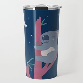 Sleeping Koala in Flowering Gum Travel Mug
