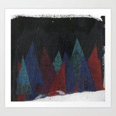 triángulos Art Print