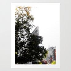 Flatiron Autumn  Art Print
