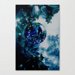 Celestial Marble Canvas Print