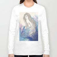 pisces Long Sleeve T-shirts featuring Pisces by katiwo