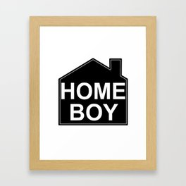 HOME BOY Framed Art Print