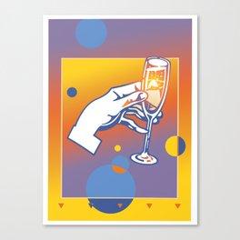A Toast 4 Canvas Print
