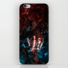 Cosmic Grunge Imprints iPhone Skin