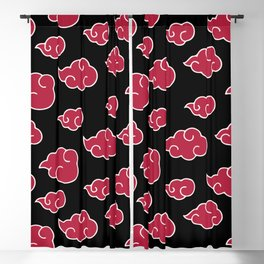 Akatsuki Cloud Pattern Blackout Curtain