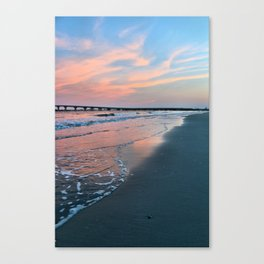 Shore Colors Canvas Print