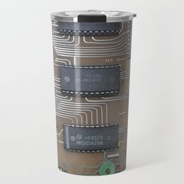 1980's Church Carols Programmer Circuit Board Travel Mug