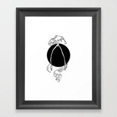 The Lucky Bone Framed Art Print