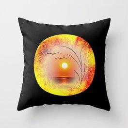 Meditatin 2 Throw Pillow