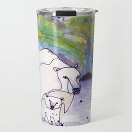 Polar Bear Mommy Travel Mug