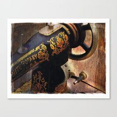 Antique Sewing Machine Canvas Print