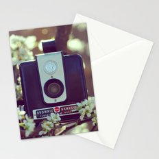 Flowering Brownie Stationery Cards