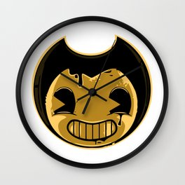 Bendy's smile face Wall Clock